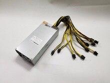 Netzteil 2500 watt 12 v 183A ausgang Umfassen 10 stücke 6Pin stecker für Antminer S7 S9 D3 A3 Baikal x10 Riesen-B WhatsMiner M1 M2 M3