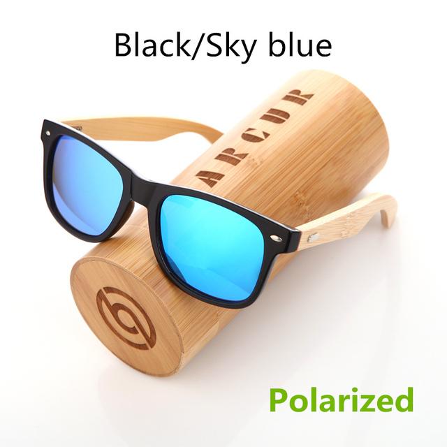 Bamboo Leopard Skin Sunglasses