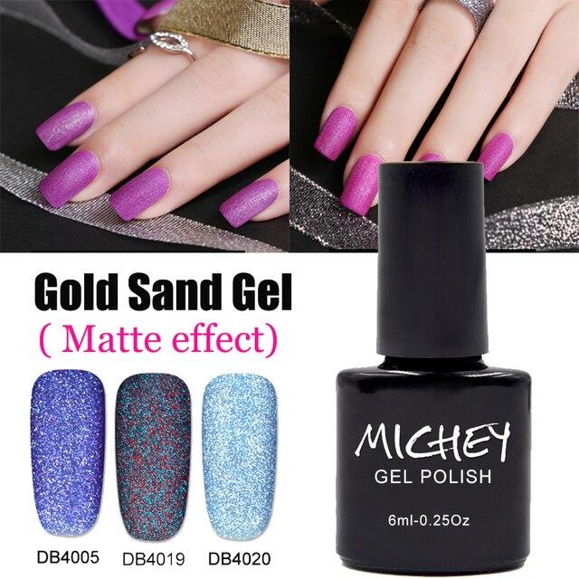 Matte Color Gel UV Gel Nail Polish Lacquer (No Need No wipe top coat ...