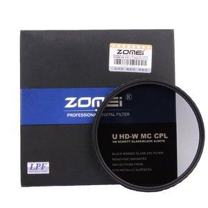 Image 2 - Zomei hd 광학 유리 cpl 필터 슬림 멀티 코팅 원형 편광판 편광 렌즈 필터 40.5/49/52/55/58/62/67/72/77/82mm