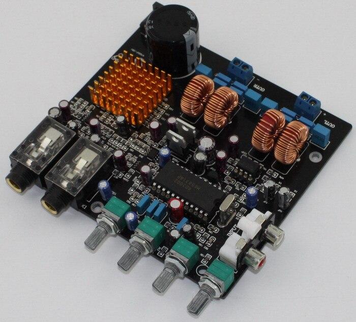 Carte amplificateur DC24V 2A 2.0 canaux classe D TPA3116 + M65831 avec carte amplificateur OK (50 W + 50 W)