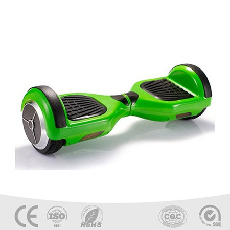 Fashion New Arrival Two Wheels Smart Self Balancing Unicycle Scooters Drifting Board Electric With Led Light Green