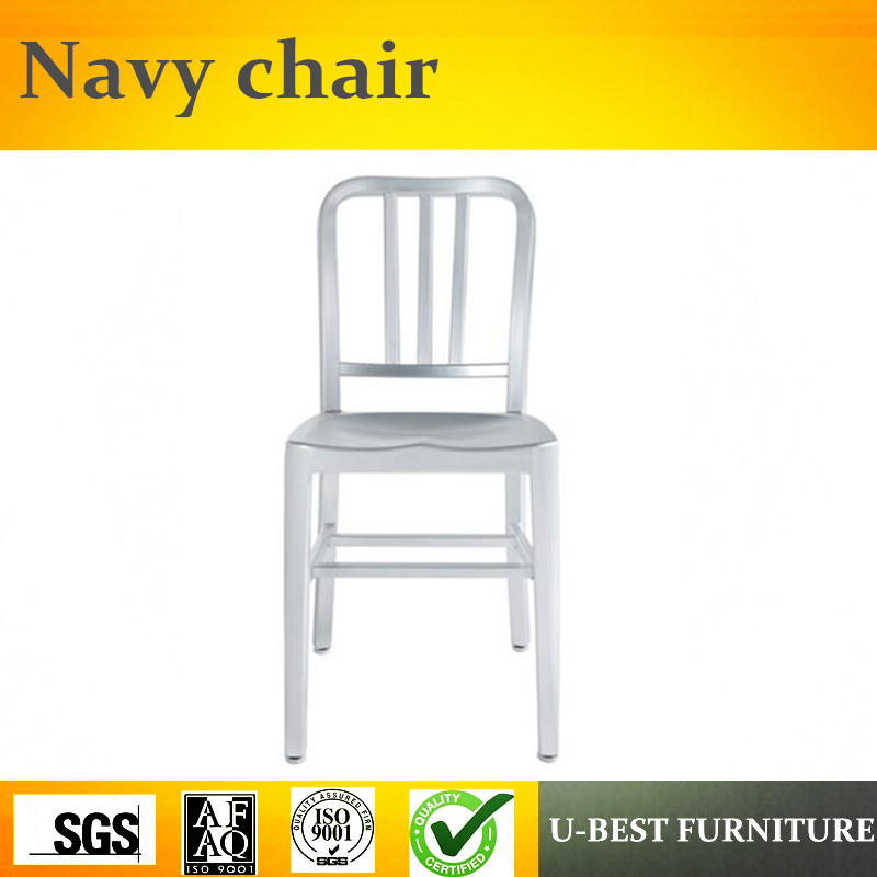 все цены на Free shipping U-BEST Modern Stacking Colorful Navy Dining Room Chairs,industrial metal dining chair