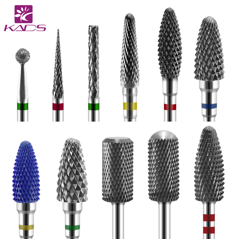 KADS 26 Type Nail File Electric Nail Drill Bit Manicure Machine Alloy&Ceramic&Diamond Rotate Burr Milling Cutter Nail Drilling цена