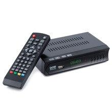 New Arrival 1 Set 1080P DVB-S2 HD Digital Satellite IPTV Combo TV Box Receiver EU Plug Support USB WIFI