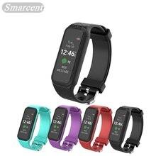 Красочный Экран L38i Умный Браслет Bluetooth 4.0 Динамический Монитор Сердечного ритма Smartband Спортивный Фитнес Наручные Часы для Android iOS