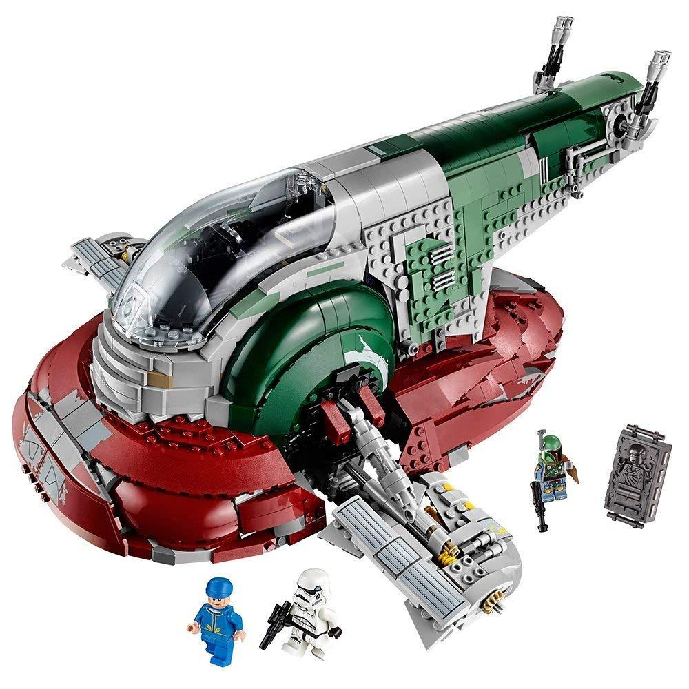 Star Plan Wars UCS Slave корабль легендарный охотник за головами Боба Фетт Building Block игрушечные лошадки Совместимость Legoings