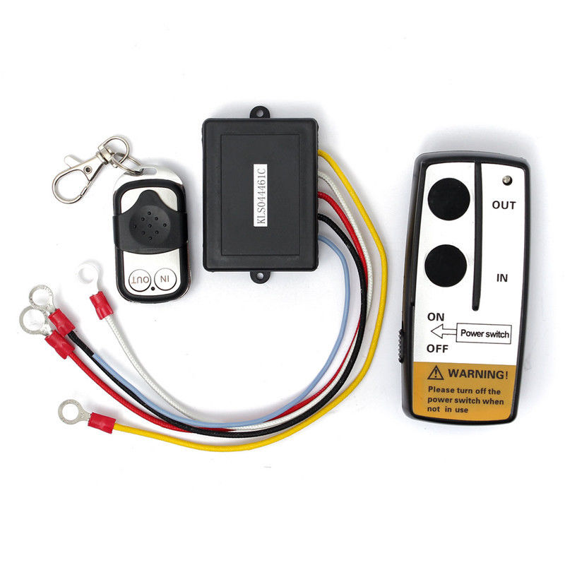 12V Electric Wireless Winch Remote Control Handset Heavy Duty For Truck ATV SUV