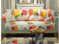 2017 Sofa Cushions Four Seasons Common Living Room Fabric Cotton Fabric Towel Solid Wood Non Slip