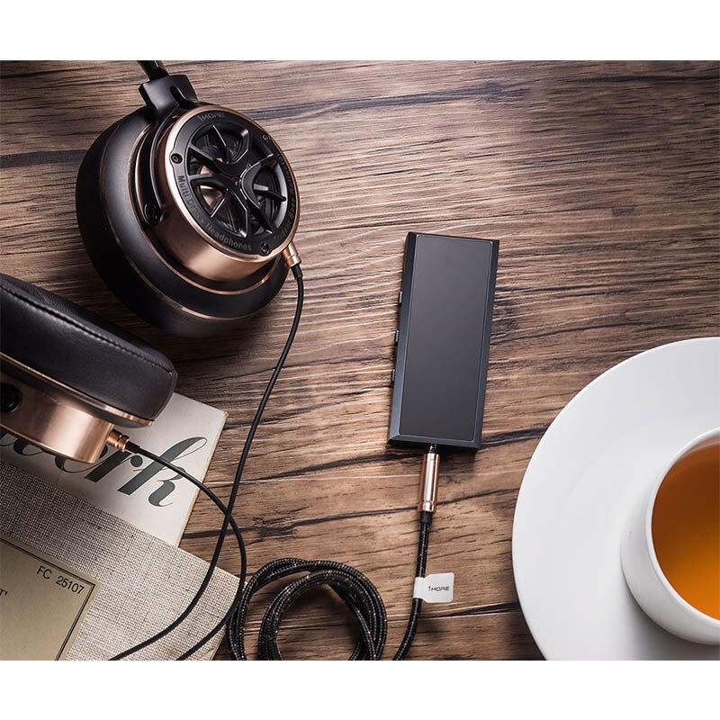 Artextreme R1 bluetooth-усилитель для наушников V4.1 Портативный 6061 Алюминий ЧПУ Беспроводной HiFi усилитель с микрофоном 180 МВт Выход 70ohm