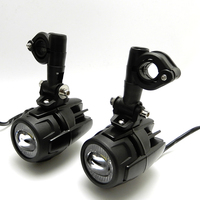 Motorcycle 2x LED Auxiliary Fog Light Assemblie Driving Lamp 40W Motorcycle for BMW R1200GSA R 1200 GS F800GS F700GS 2013 2016