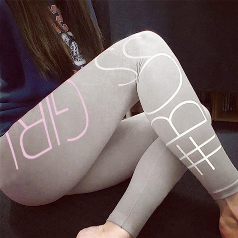 Women Casual High Waist Sports Gym Running Fitness   Leggings   Pants Athletic Trouser Slim Skinny beautiful Length   Leggings   Pants