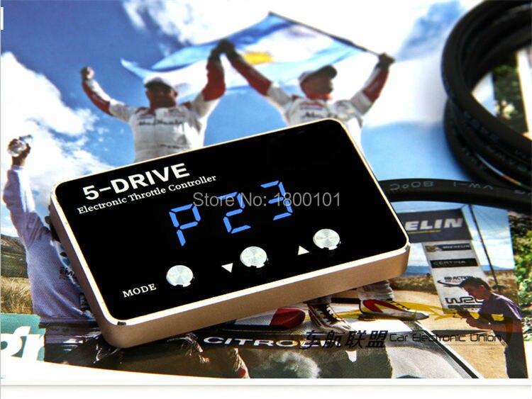 Двигатель электронный контроллер дроссельной заслонки сильный автомобиль Booster для audia3 A5 A7 A4L A6L (круглый exhauset) a8L R8 S5 Q5 TT Seat Leon