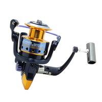 Alta Qualidade Super Tecnologia Carretel De Pesca 11BB Rolamentos Bolas 1000-6000 Series Spinning Reel Barco de Pesca Rocha Roda Bobina