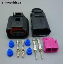 Wholesale 100sets 2Pin 2P DJ7025A 3 5 car connector fog lamp plug horn Electrical connector kits_220x220 popular kit horn cable buy cheap kit horn cable lots from china Dune Buggy Wiring Harness Kit at n-0.co