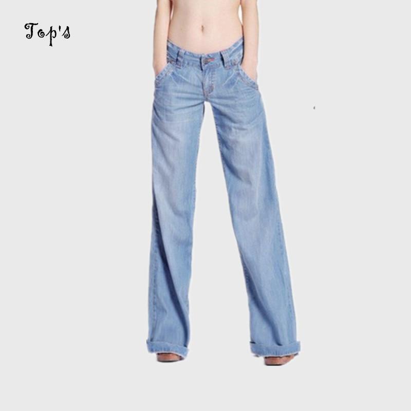 2019 Nová velkoobchodní dámská džína s dlouhým rukávem, prané džíny, dámské kalhoty se spodním kalhotem pro ženy