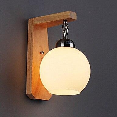 Led l mparas de pared de madera moderna llev las luces de pared l mpara de pared para el hogar Lamparas para pared interior
