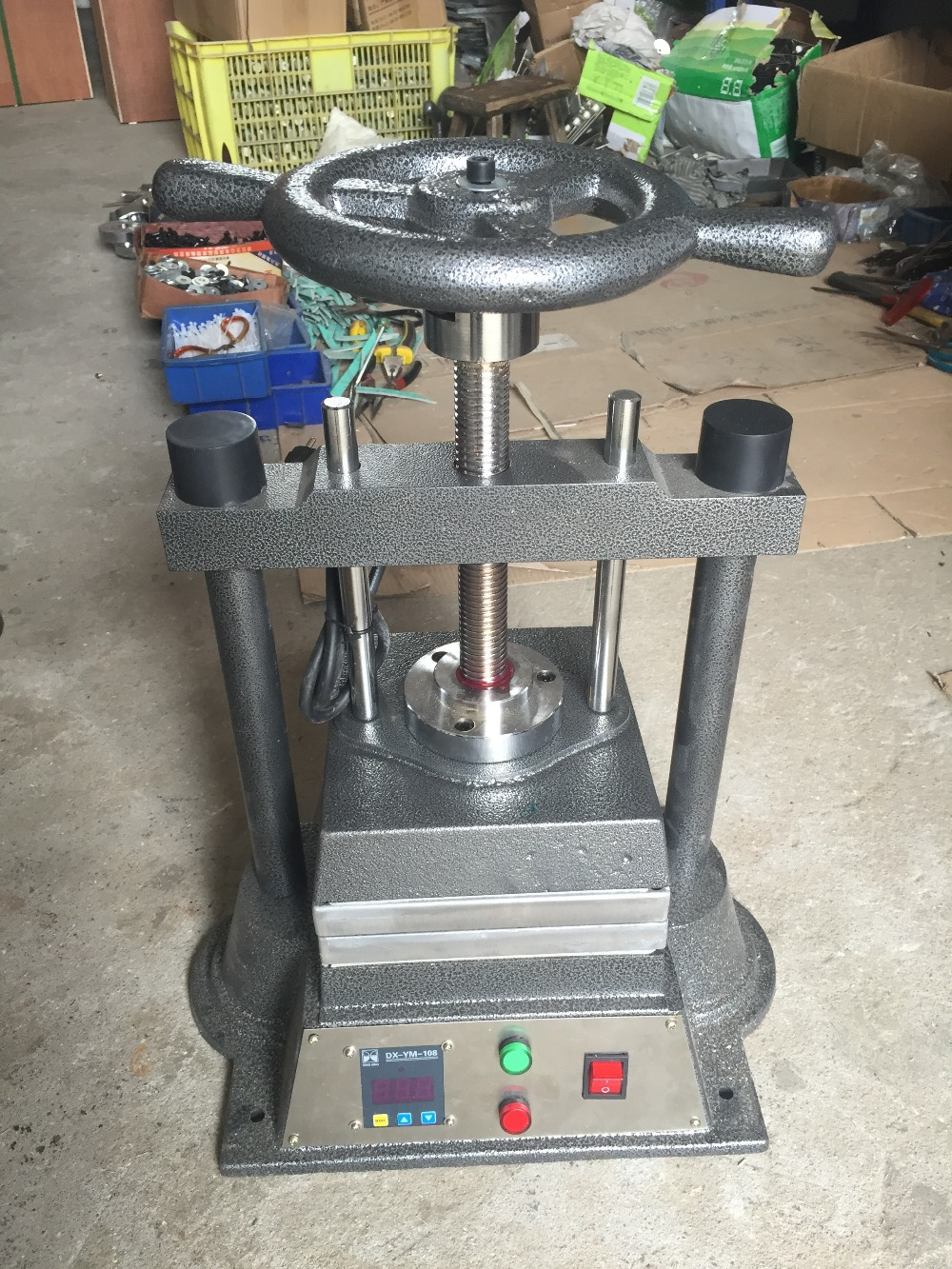 8*8inch digital Vulcanizer for Jewelry Casting machine wax injector Воск