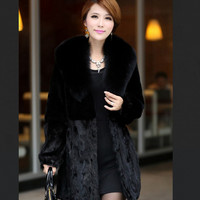 New Design Winter Fashion Overcoat Women Clothing Classic Long Line Wool Coat
