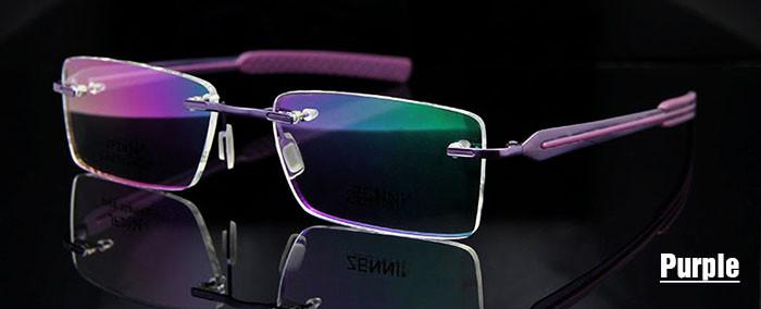 Titanium Eyeglasses Rimless (2)