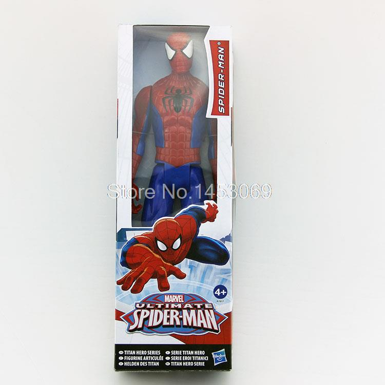 "12"" 30CM Marvel <font><b>Spiderman</b></font> <font><b>Ultimate</b></font> <font><b>Spider-man</b></font> PVC Action Figure Collectible Model Toy"