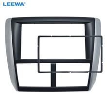 LEEWA 2 DIN автомобиля Радио панель для Subaru Forester 2008-2012 Impreza 2012-2007 стерео Фризовая тире CD отделка Установка комплект