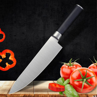 Chef's Knife Stainless Steel Kitchen Knife 8 Inch Utility Cook's Knife with Ergonomic Handle Sharp Cleaver Slicing Knives Gift