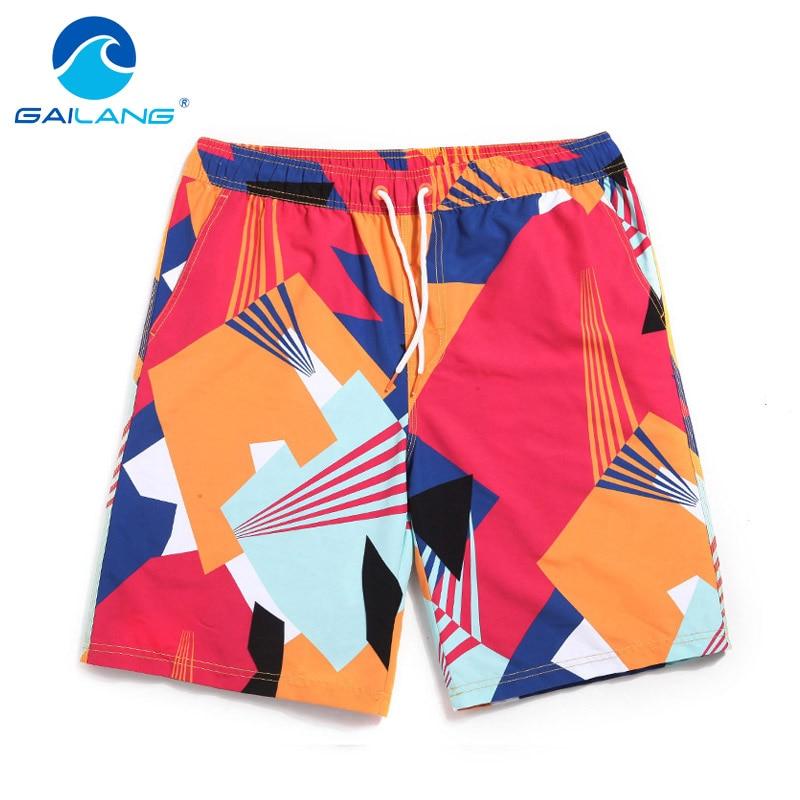 Gailang Brand vyriški paplūdimio šortai Casual Men Boardhorts - Vyriški drabužiai - Nuotrauka 1