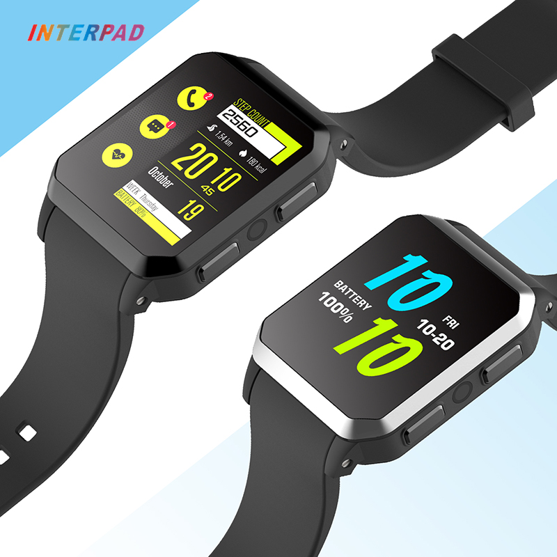Interpad 3G GPS Smart Watch MTK6580 IP68 Waterproof 512MB+8GB Heart Rate Monitor Bluetooth Smartwatch For Android iOS Xiaomi interpad p6 smart watch bluetooth heart rate monitor pedometer wearable smartwatch for ios iphone android xiaomi huawei watch