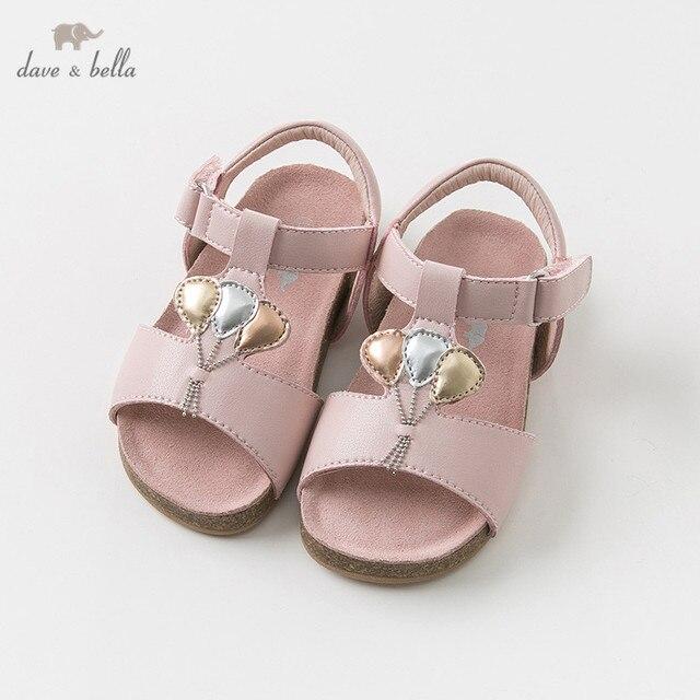 94173021e18 DB10256 Dave Bella summer baby girl sandals new born prewalkers infant shoes  girl sandals Princesss shoes