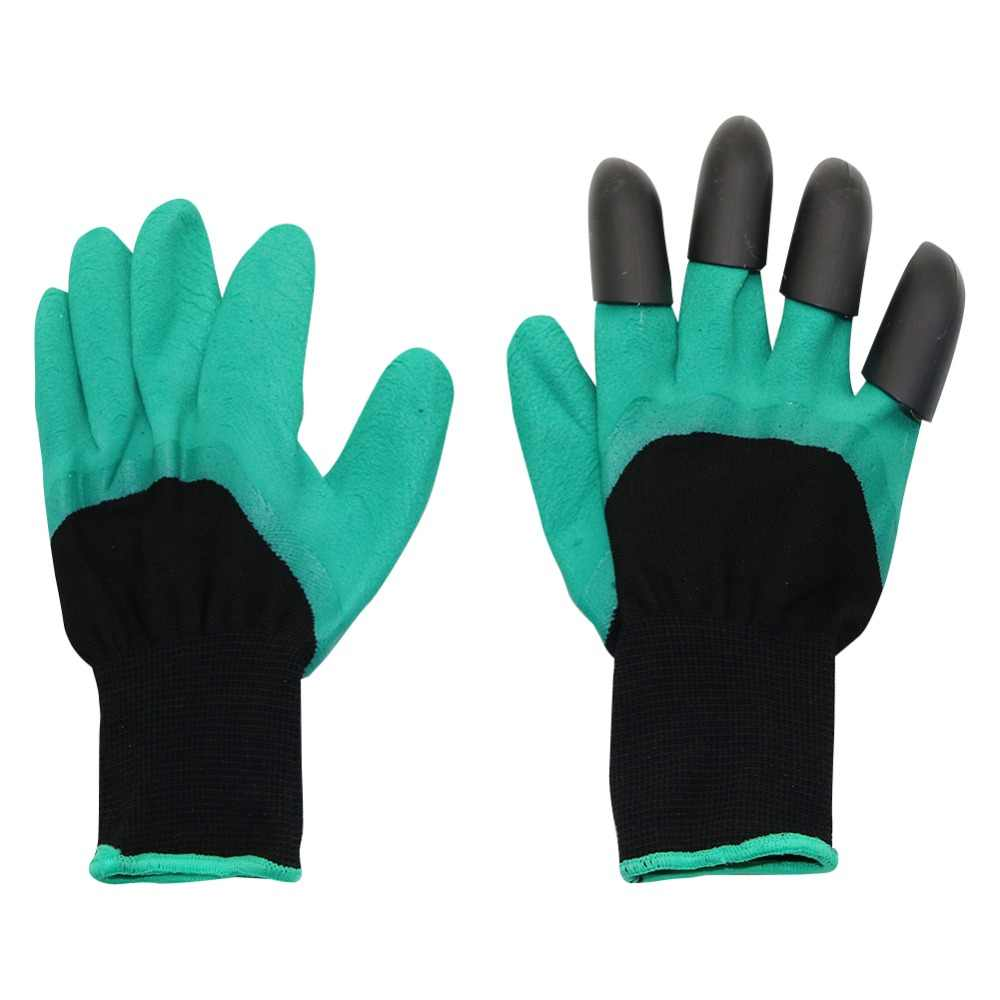 Garden Genie Gloves with Plastic Claws for Digging Planting Gardening Work Glove Household Greenhouse tools