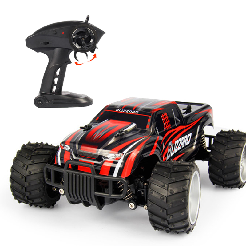RC Car Big Foot Truck High Speed Racing 2.4G Monster Truck Remote Control SUV Buggy Off Road Car Electronic Hobby Toys Model kingtoy detachable remote control big size multifuncional rc farm trailer tractor truck toy