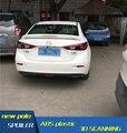 For Axela Mazda 3 Spoiler ABS Material Car Rear Wing Mazda3 Primer Color Rear Spoiler For Mazda 3 Axela Spoiler 2014-2016