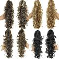 Hot Sale kinky curly drawstring ponytail Lady's Synthetic Fiber Heat Resistant Long hair Wavy Ponytails FREE SHIPPING