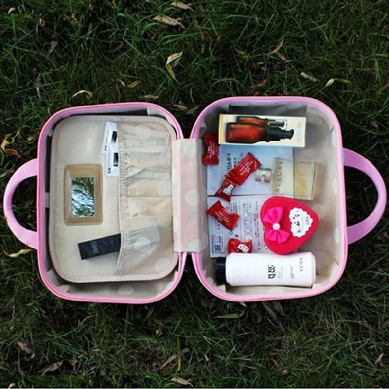 13inch Gullig Hello Kitty Kvinnor Sminkväska / Affärsresa Make Up - Väskor för bagage och resor - Foto 6