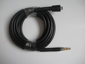 "Image 3 - 15 M fit צינור מכונת כביסה מכונית Karcher K5 מחבר 400Bar 5800PSI, M22 * 1.5*14 מ""מ, צינור מכונת כביסה לחץ גבוה"