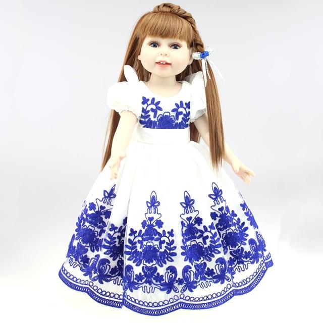 18 \'\'45 cm American Girl Muñecas niños Playmate muñeca reborn hecho ...