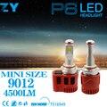 P6 Car LED Headlight 9012 LED PLug&Play 90w 9000LM 2PCS 6000K Xenon White Auto LED Bulbs For Universal Car
