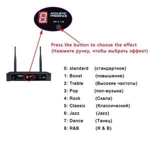 Image 2 - FB U10 Dual Way Digital UHF Microfono Senza Fili con 2 Metallo Palmari