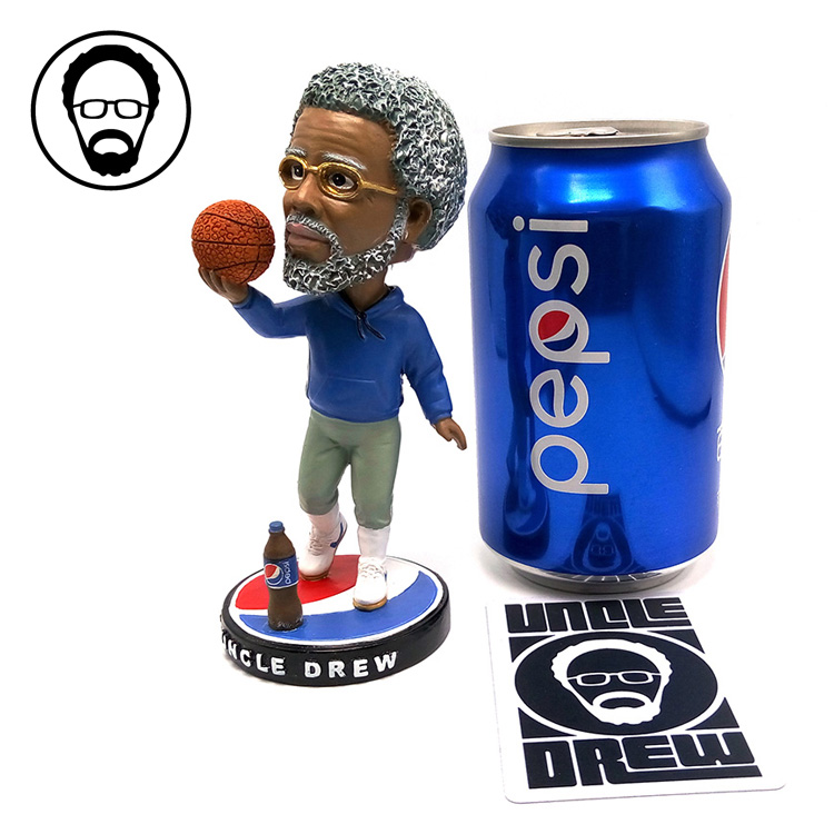 все цены на Fancy Doll 13cm NBA Kyrie Andrew Irving Figure Cola Uncle drew Resin Bobble Head Figure Doll Toy Collectible Model Toy Hot Sale онлайн