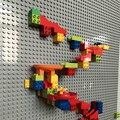 Креативный строительный блок большого размера  настенная опорная пластина  дизайнерские мраморные гоночные блоки  развивающие игрушки для...