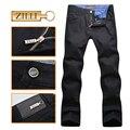 ZILLI homens jeans 2016 novo estilo elegante da moda comercial excelente conforto tecido das calças frete grátis