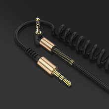 FLOVEME 3.5mm Male to Male Coiled Audio Stereo Cable