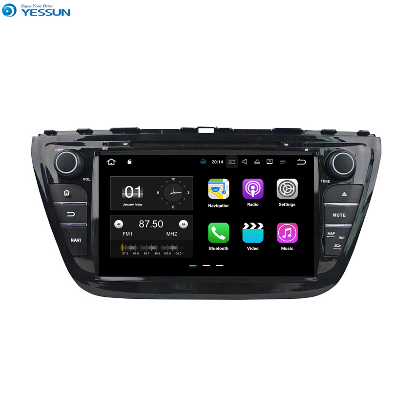 YESSUN Android Car For Suzuki S Cross/SX4 2014~2015 Navigation GPS Audio Video Radio HD Touch Screen Stereo Multimedia Player.