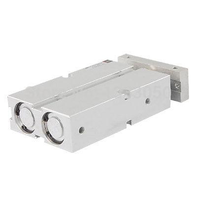 Dual Shaft 20 x 40 Magnet Attach Air Pneumatic CylinderDual Shaft 20 x 40 Magnet Attach Air Pneumatic Cylinder