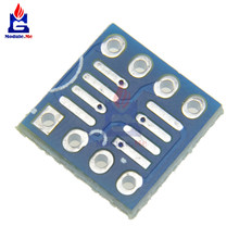 10PCS SOP8 SO8 SOIC8 TO DIP8 Interposer board pcb Board Adapter Plate New