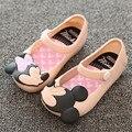 Mini SED Meninas calçam sapatos de princesa 2016 Meninas de Verão Sandálias Crianças Bonitos Do Bebê Sapatos Sandálias para meninas sapatos de Geléia Crianças sandálias