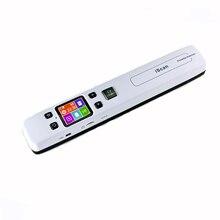 Zero ระยะทางเครื่องสแกนเนอร์แบบพกพาแบบพกพาสำหรับ iscan 02A สำนักงาน HD ความเร็วสูงสี A4 เอกสาร/Photo/หนังสือเอกสาร scan Scanner