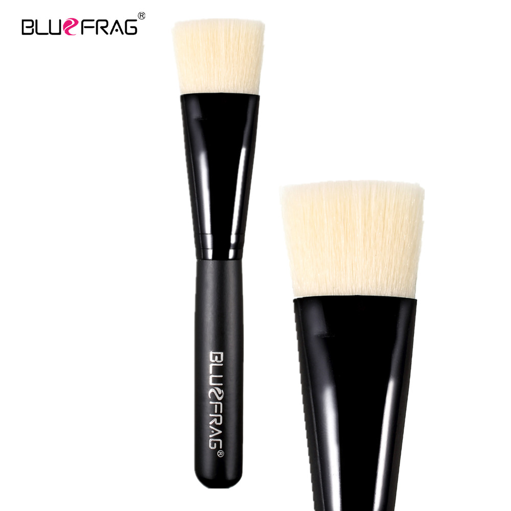 BLUEFRAG Face makeup brush Foundation brush professional high quality liquid flat brushes makeup  beauty essential BLBR0145 top quality foundation brush angled makeup brush