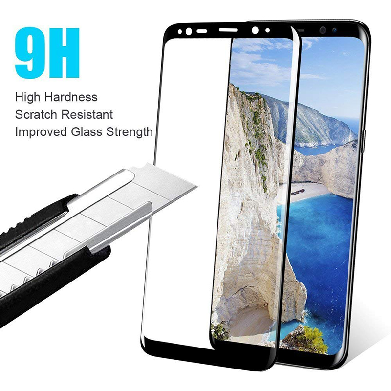 Suntaiho 3D Full Cover Tempered Glass For Samsung Galaxy note9 A8 2018 Protective Screen Protector Galaxy A5 A3 2017 Glass Film